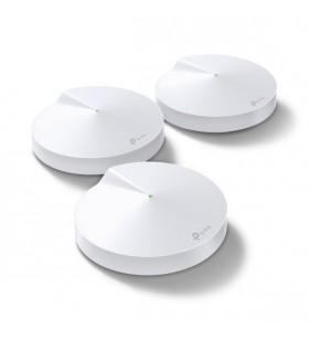 TP-LINK Deco M9 Plus(3-pack) Alb Intern Tri-band (2.4 GHz   5 GHz   5 GHz) Wi-Fi 5 (802.11ac) 2