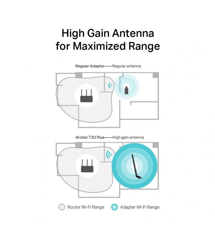 TP-LINK AC600 High Gain Wireless Dual Band USB Adapter WLAN 600 Mbit s Intern