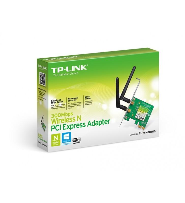 TP-LINK TL-WN881ND plăci de rețea WLAN 300 Mbit s Intern