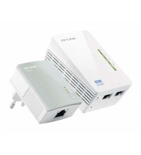 TP-LINK TL-WPA4220KIT adaptoare de rețea pentru linii de alimentare cu electricitate 300 Mbit s Ethernet LAN Wi-Fi