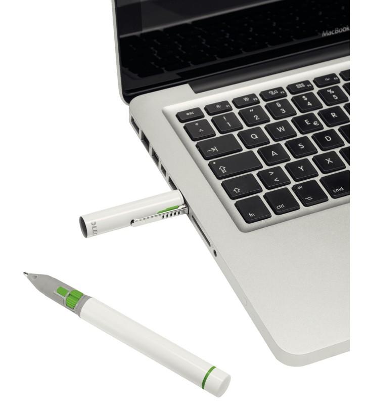 Leitz Complete Pen Pro 2 prezentatori wireless RF Alb