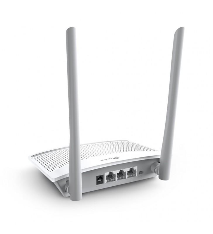 TP-LINK TL-WR820N router wireless Bandă unică (2.4 GHz) Fast Ethernet Alb