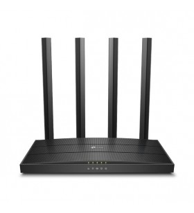 TP-LINK Archer C80 router wireless Bandă dublă (2.4 GHz  5 GHz) Gigabit Ethernet Negru