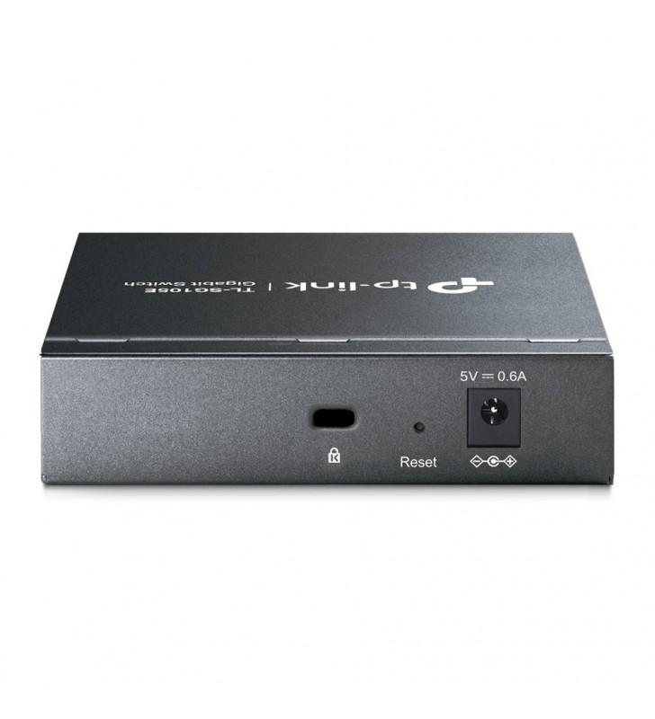 TP-LINK TL-SG105E switch-uri L2 Gigabit Ethernet (10 100 1000) Negru