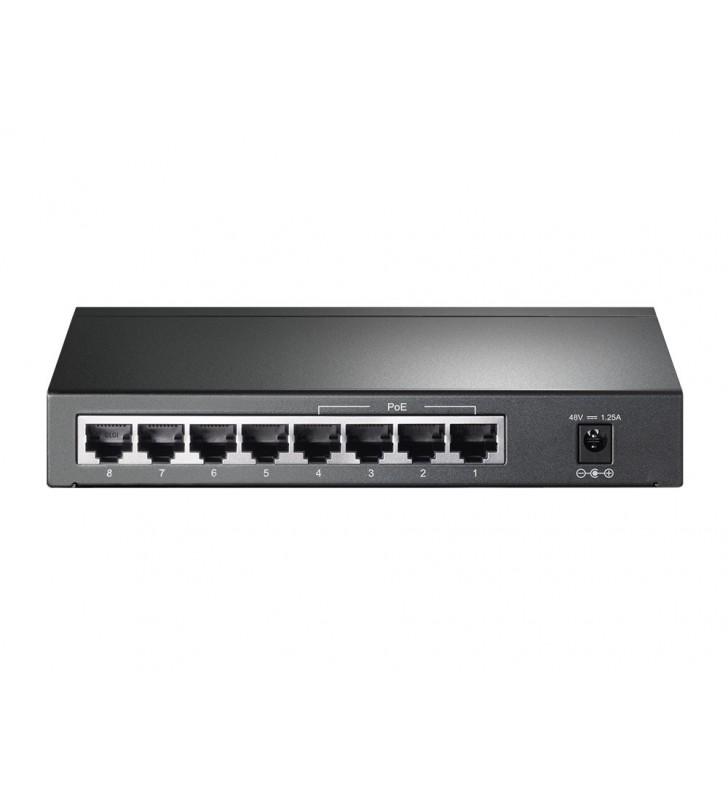 TP-LINK TL-SG1008P switch-uri Gigabit Ethernet (10 100 1000) Alune Power over Ethernet (PoE) Suport