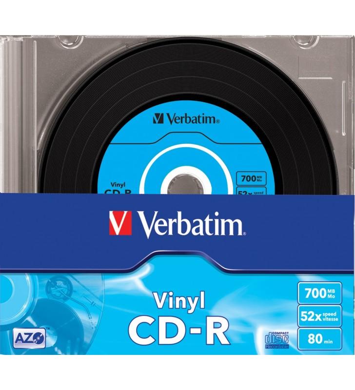 Verbatim CD-R AZO Data Vinyl 700 Mega bites 10 buc.