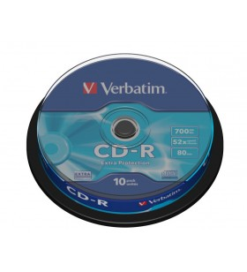 Verbatim CD-R Extra Protection 700 Mega bites 10 buc.