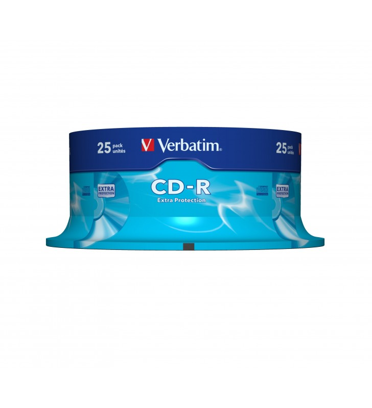 Verbatim CD-R Extra Protection 700 Mega bites 25 buc.