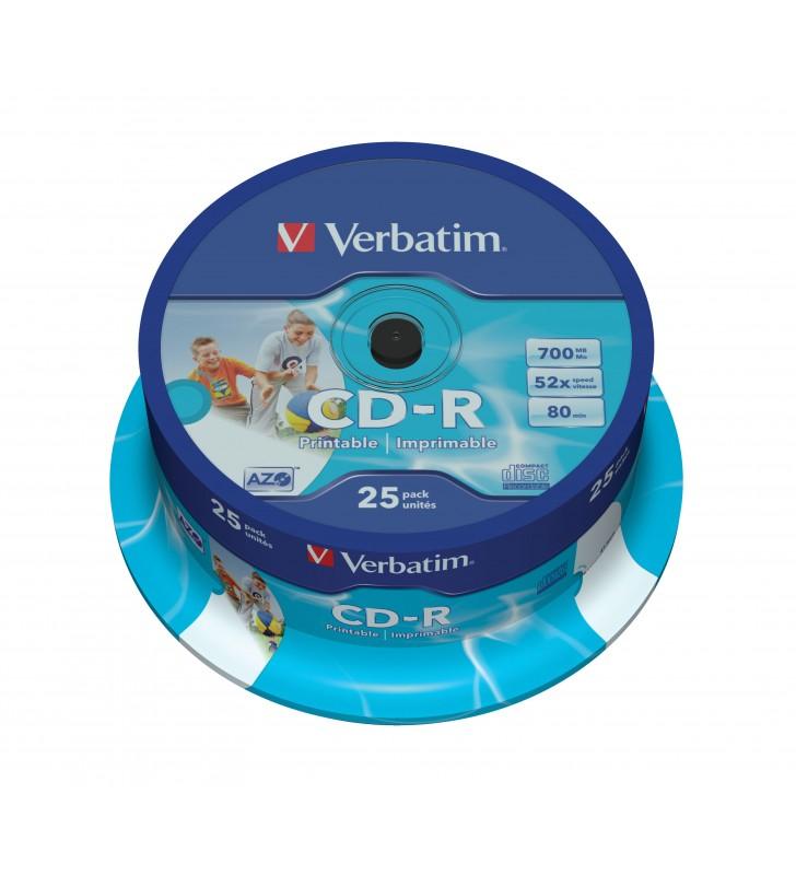 Verbatim 43439 CD-uri blank CD-R 700 Mega bites 25 buc.