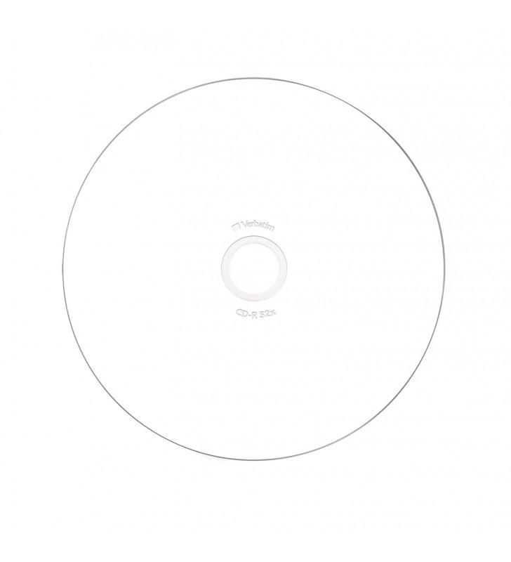 Verbatim CD-R AZO Wide Inkjet Printable 700 Mega bites 10 buc.