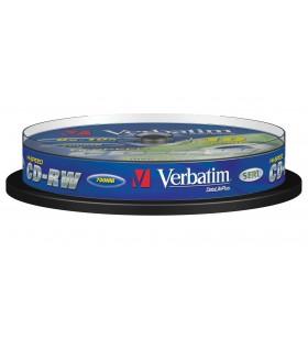 Verbatim CD-RW 12x 700 Mega bites 10 buc.