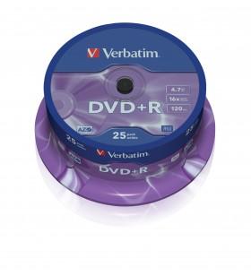 Verbatim DVD+R Matt Silver 4,7 Giga Bites 25 buc.