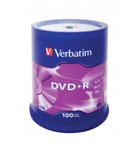 Verbatim DVD+R Matt Silver 4,7 Giga Bites 100 buc.