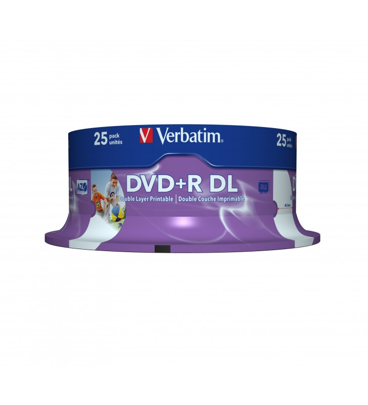 Verbatim 43667 DVD-uri blank 8,5 Giga Bites DVD+R DL 25 buc.