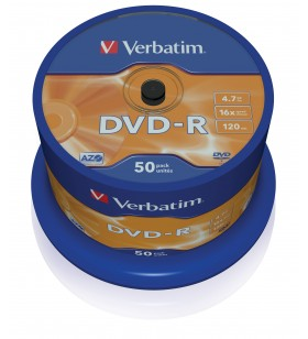 Verbatim DVD-R Matt Silver 4,7 Giga Bites 50 buc.