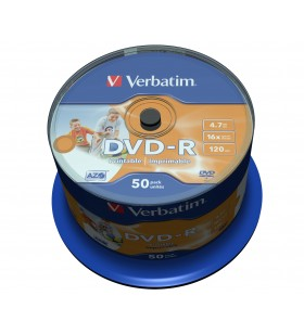 Verbatim 43533 DVD-uri blank 4,7 Giga Bites DVD-R 50 buc.