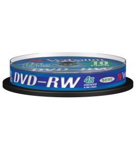 Verbatim DVD-RW Matt Silver 4x 4,7 Giga Bites 10 buc.
