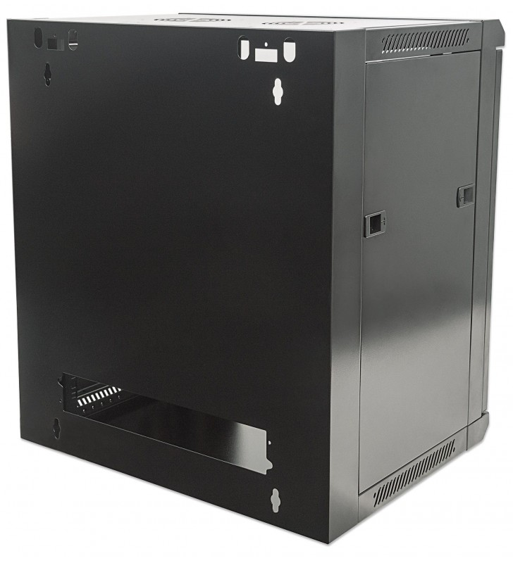 Intellinet 711951 rack-uri 15U Raft montat pe perete Negru