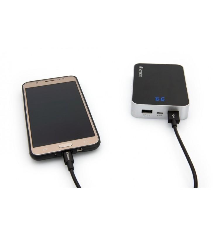 Verbatim 48866 cabluri USB 0,3 m USB A Micro-USB A Negru