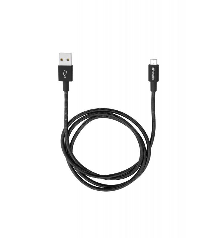 Verbatim 48863 cabluri USB 1 m USB A Micro-USB A Negru
