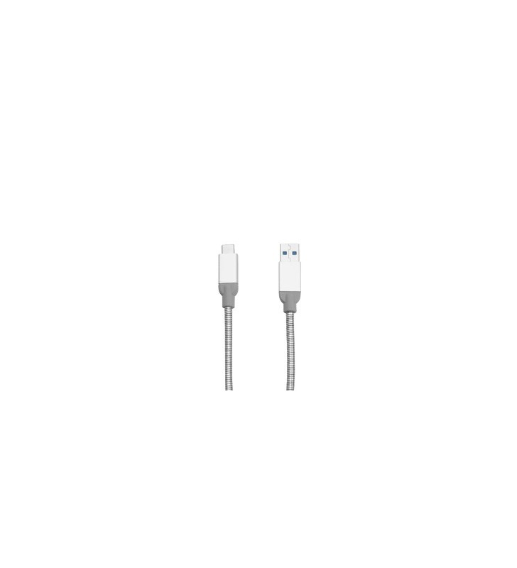 Verbatim 48868 cabluri USB 0,3 m 3.2 Gen 2 (3.1 Gen 2) USB B USB A Argint