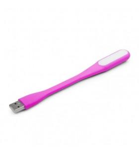 "Notebook LED USB light, pink color, Gembird ""NL-01-P"""