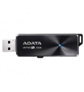 "USB 3.1 ADATA  64GB, retractabil, Black, ""UE700 Pro"" ""AUE700PRO-64G-CBK""(include timbru verde 0.01 lei)"