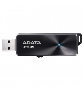 "USB 3.1 ADATA 128GB, retractabil, Black, ""UE700 Pro"" ""AUE700PRO-128G-CBK""(include timbru verde 0.01 lei)"
