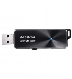 "USB 3.1 ADATA 256GB, retractabil, Black, ""UE700 Pro"" ""AUE700PRO-256G-CBK""(include timbru verde 0.01 lei)"