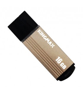 "USB 2.0 KINGMAX  16GB MA-06, compact, aliaj aluminiu, gold ""KM16GMA06Y"" ""KM-MA06-16GB/Y"" (include timbru verde 0.01 lei)"