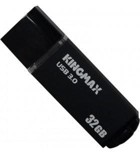 """USB 3.0 KINGMAX  32GB MB-03, compact, aliaj aluminiu, black """"KM32GMB03B"""" """"KM-MB03-32GB/BK"""" (include timbru verde 0.01 lei)"""