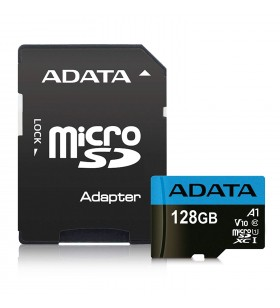 "MicroSD ADATA SDXC. 128GB (Clasa 10) + adaptor SD, ""AUSDX128GUICL10A1-RA1"""