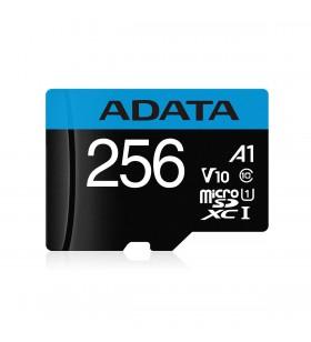 "MicroSD ADATA SDXC. 256GB (Clasa 10) + adaptor SD, ""AUSDX256GUICL10A1-RA1"""