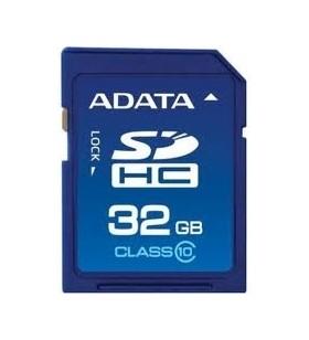 """SD CARD ADATA SDHC 32GB (Clasa 10), """"ASDH32GUICL10-R"""""""