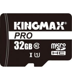 "MicroSD KINGMAX SDHC  32GB (Class 10) PRO + adaptor SD, ""KM32GMCSDUHSP1A-1"" ""KM-PS04-32GB-PRO"""