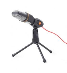 """Desktop microphone with a tripod, black """"MIC-D-03"""""""
