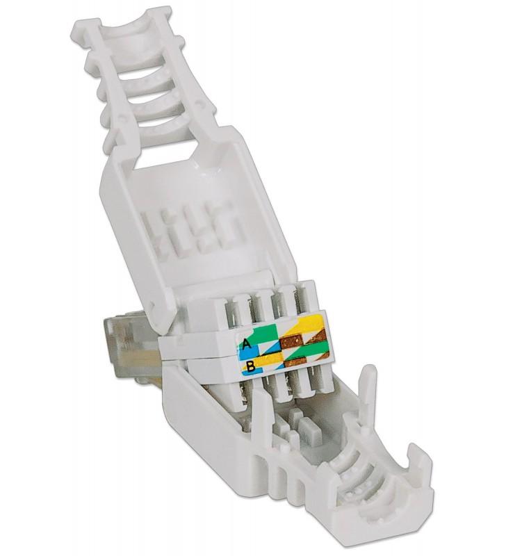 Intellinet 790482 cabluri conectoare RJ45 Alb