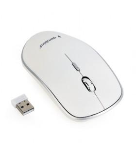 "MOUSE GEMBIRD wireless, 1600dpi, 4 butoane, 1 rotita scroll, white ""MUSW-4B-01-W"" (include timbru verde 0.1 lei)"