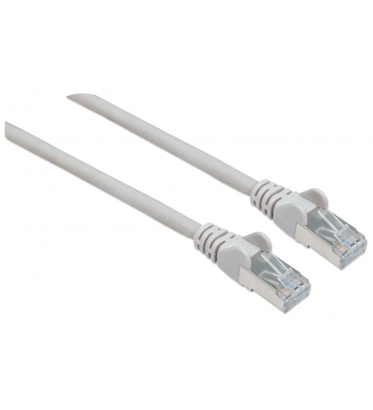 Intellinet 1m Cat6 SFTP cabluri de rețea S FTP (S-STP) Gri