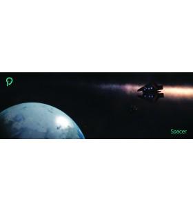 """PAD SPACER gaming, 900 x 300 x 3 mm, material : spuma din cauciuc natural + tesatura """"SP-PAD-GAME-B""""/45506081"""