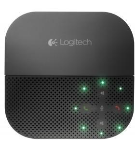 Logitech P710e telefoane cu difuzor Telefon mobil Negru USB Bluetooth