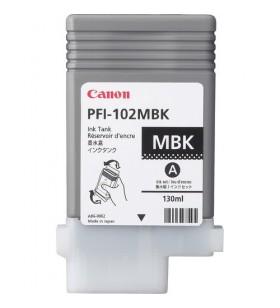 Canon PFI-102MBK Original Negru mat