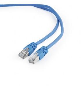 "PATCH CORD FTP GEMBIRD Cat6,  3m, albastru, ecranat, ""PP6-3M/B"""