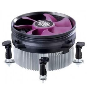 Cooler Master X Dream i117 Procesor Ventilator 9,5 cm Aluminiu, Violet