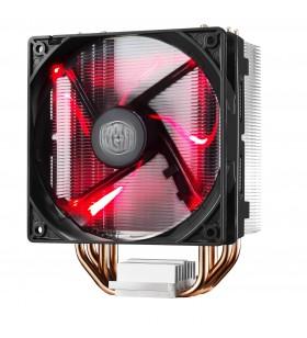 Cooler Master Hyper 212 LED Procesor Ventilator 12 cm Negru, Metalic, Roşu