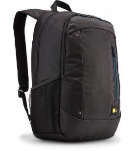 """Case Logic Jaunt WMBP-115 Black genți pentru notebook-uri 39,6 cm (15.6"""") Husă tip rucsac Negru"""