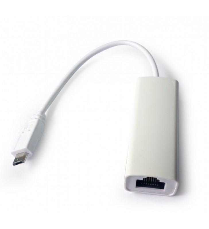 """MicroUSB 2.0 LAN adapter for mobile devices """"NIC-mU2-01"""""""