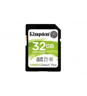 Kingston Technology Canvas Select Plus memorii flash 32 Giga Bites SDHC Clasa 10 UHS-I