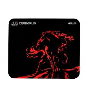 ASUS Cerberus Mat Mini Negru, Roşu Mouse pad pentru jocuri