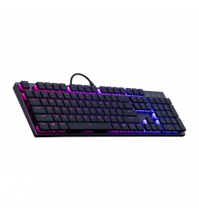 Cooler Master Gaming SK650 tastaturi USB QWERTY Engleză SUA Negru, Metalic